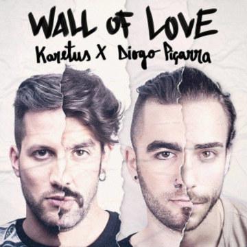 Karetus - Wall of Love ft. Diogo Piçarra (DAKID remix) Artwork