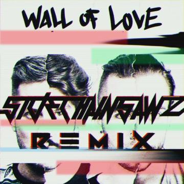 Karetus - Wall of Love ft. Diogo Piçarra (SideChainSawz remix) Artwork