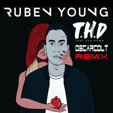Ruben Young - Take Her Down (OscarColt remix) Artwork