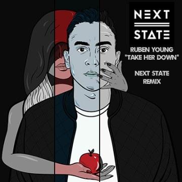 Ruben Young - Take Her Down (Next State remix) Artwork