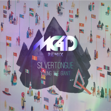 Young the Giant - Silvertongue (MC4D remix) Artwork