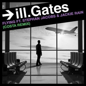 ill.Gates - Flying Ft. Stephan Jacobs & Jackie Rain (Costa Di Rossa Remix) Artwork