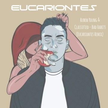 Ruben Young & Classified - Bad Habits (Eucariontes remix) Artwork