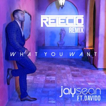 Jay Sean - What You Want FT. Davido (Relecto remix) Artwork