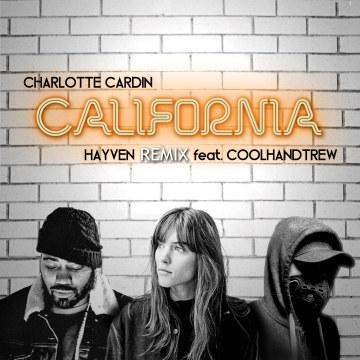 Charlotte Cardin - California (HAYVEN remix) Artwork