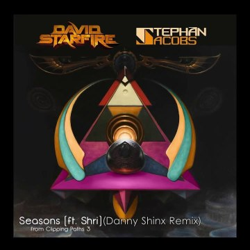 David Starfire & Stephan Jacobs - Seasons feat. Shri (Danny Shinx remix) Artwork
