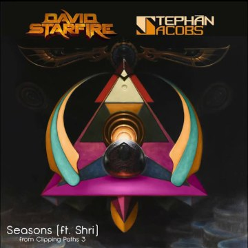David Starfire & Stephan Jacobs - Seasons feat. Shri (Cesar Five remix) Artwork