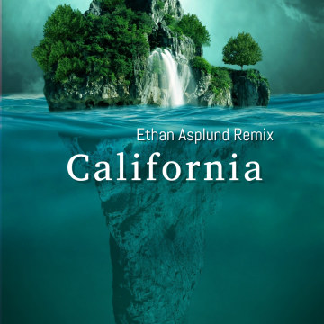 Charlotte Cardin - California (Ethan Asplund remix) Artwork