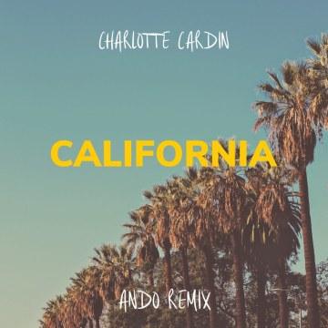 Charlotte Cardin - California (Ando Remix) Artwork