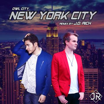 Owl City - New York City (J.D. Rich Remix) Artwork