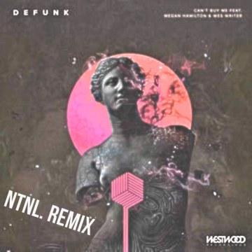 Defunk - Can't Buy Me feat. Megan Hamilton & Wes Writer (NTNL. Music Remix) Artwork