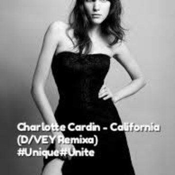 Charlotte Cardin - California (Divey Pradhan remix) Artwork