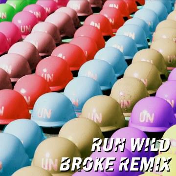 Thutmose - Run Wild feat. NoMBe (BROKE Remix) Artwork