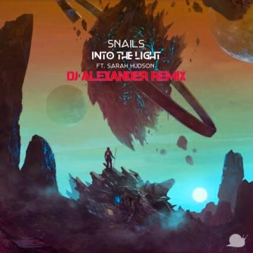 SNAILS - Into The Light feat. Sarah Hudson (Alexander Benson-Cruz Remix) Artwork