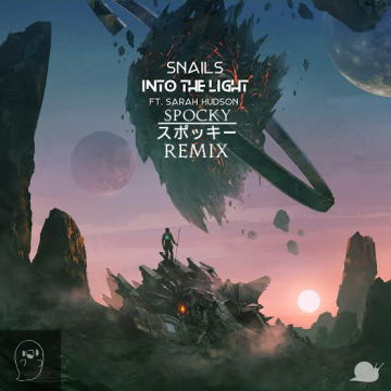 SNAILS - Into The Light feat. Sarah Hudson (Spocky Remix) Artwork