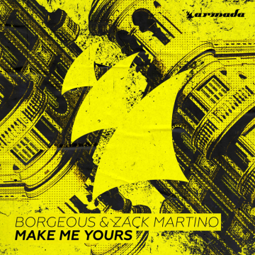 Borgeous & Zack Martino - Make Me Yours (The darckside Remix) Artwork