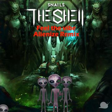 Snails & Big Gigantic - Feel the Vibe Feat. Collie Buddz (Alienize Remix) Artwork