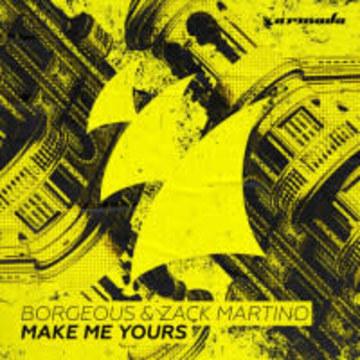 Borgeous & Zack Martino - Make Me Yours (Palvos Remix) Artwork
