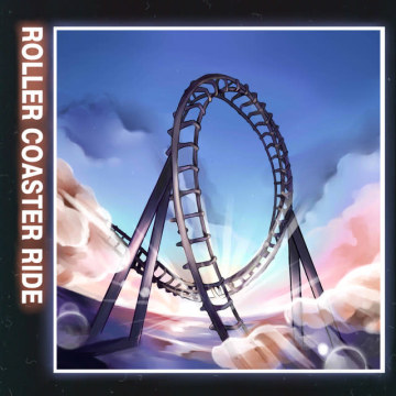 JOWST - Roller Coaster Ride (With Manel Navarro and Maria Celin) (Antony Norman Remix) Artwork