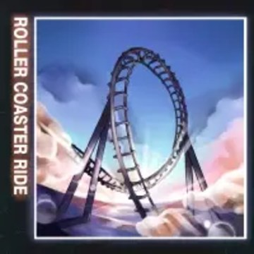JOWST - Roller Coaster Ride (With Manel Navarro and Maria Celin) (Kovas music Remix) Artwork