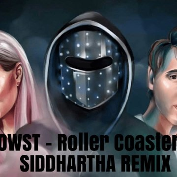 JOWST - Roller Coaster Ride (With Manel Navarro and Maria Celin) (Siddhartha Biswas Remix) Artwork