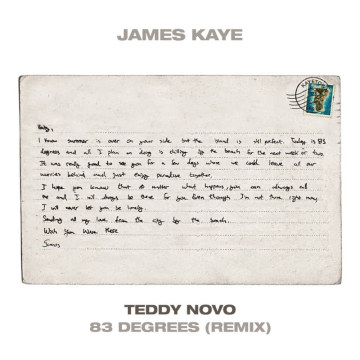 James Kaye - 83 Degrees (Teddy Novo Remix) Artwork
