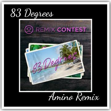 James Kaye - 83 Degrees (Amino Remix) Artwork