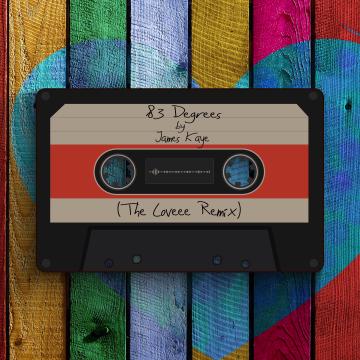 James Kaye - 83 Degrees (The Loveee Remix) Artwork