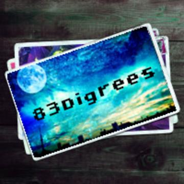 James Kaye - 83 Degrees (hitomishiri Remix) Artwork