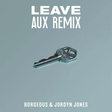 Borgeous & Jordyn Jones - Leave (AUX Remix) Artwork