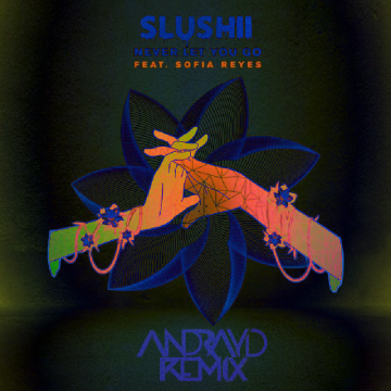 Slushii - Never Let You Go (feat. Sofia Reyes) (Andrayd Remix) Artwork