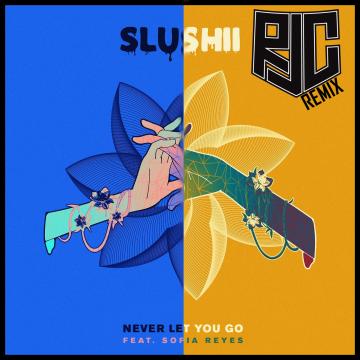 Slushii - Never Let You Go (feat. Sofia Reyes) (R:J:C Remix) Artwork
