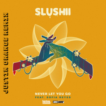 Slushii - Never Let You Go (feat. Sofia Reyes) (Justin Orange Remix) Artwork
