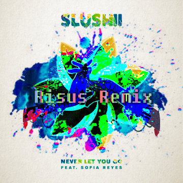 Slushii - Never Let You Go (feat. Sofia Reyes) (RISUS Remix) Artwork