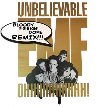 EMF - Unbelievable (DJ Ed Funk Remix) Artwork