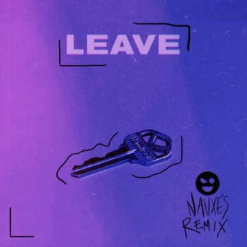 Borgeous & Jordyn Jones - Leave (Nauxes Remix) Artwork