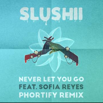 Slushii - Never Let You Go (feat. Sofia Reyes) (phortify Remix) Artwork