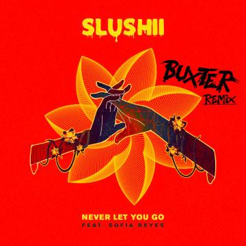 Slushii - Never Let You Go (feat. Sofia Reyes) (Buxter Remix) Artwork