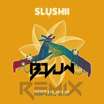 Slushii - Never Let You Go (feat. Sofia Reyes) (Bovum Remix) Artwork