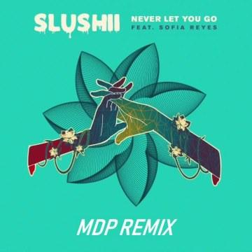 Slushii - Never Let You Go (feat. Sofia Reyes) (MDP Remix) Artwork
