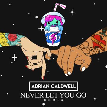 Slushii - Never Let You Go (feat. Sofia Reyes) (Adrian Caldwell Remix) Artwork