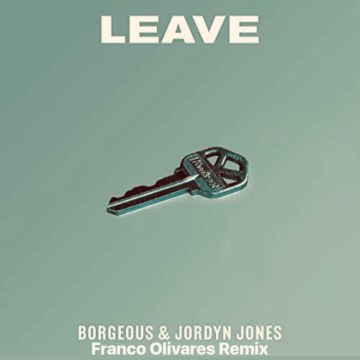 Borgeous & Jordyn Jones - Leave (Franco Olivares Remix) Artwork