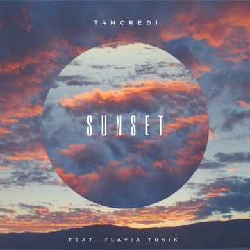 T4NCREDI - Sunset (feat. Flavia Tunik Artwork