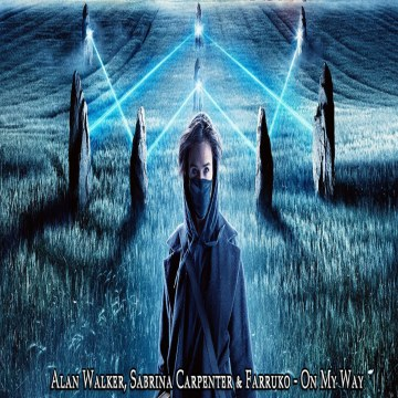 GHRLD - Alan Walker, Sabrina Carpenter & Farruko - On My Way ( GHRLD REMIX ) Artwork