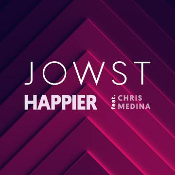 JOWST - Happier feat. Chris Medina Artwork