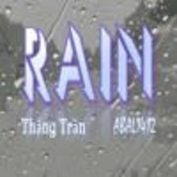 ABAL1412, Thắng Trần - Rain | Thắng Trần & ABAL1412 Artwork