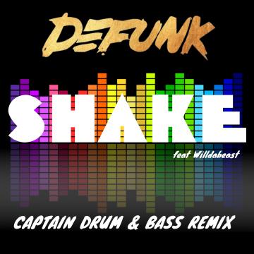 DEFUNK - SHAKE feat. Willdabeast (Captain Remix) Artwork