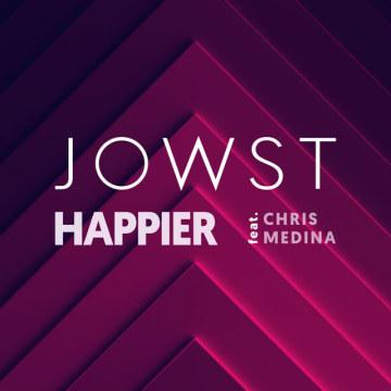JOWST - Happier feat. Chris Medina (I Versac Remix) Artwork