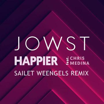 JOWST - Happier feat. Chris Medina (Sailet Weengels Remix) Artwork