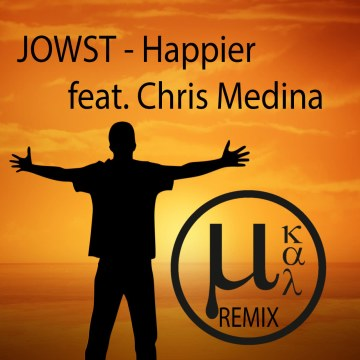 JOWST - Happier feat. Chris Medina (µ kal Remix) Artwork
